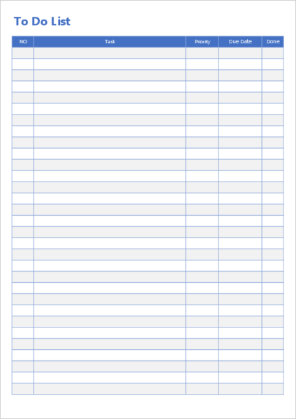 to-do list excel template01