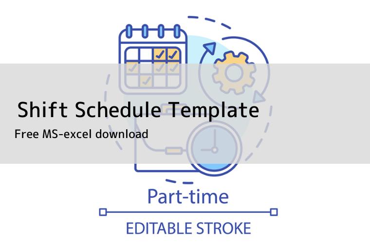 Shift Schedule templates eye