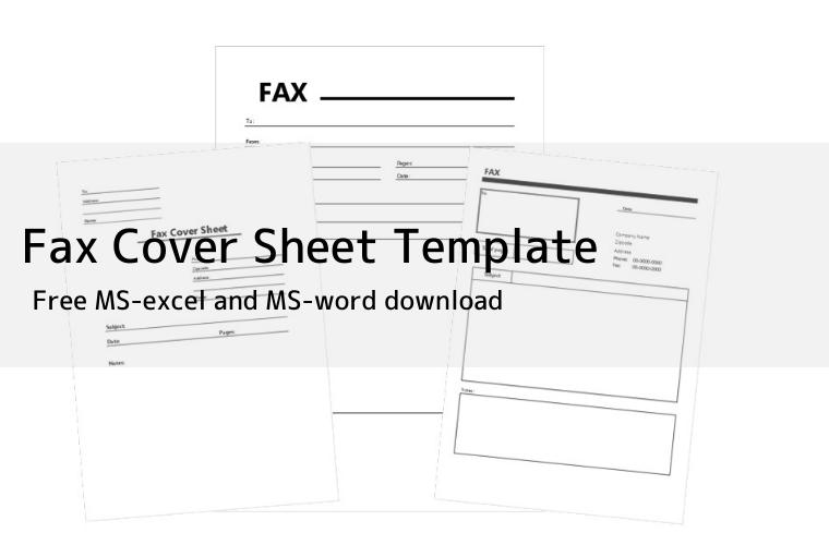 fax cover sheet template eye