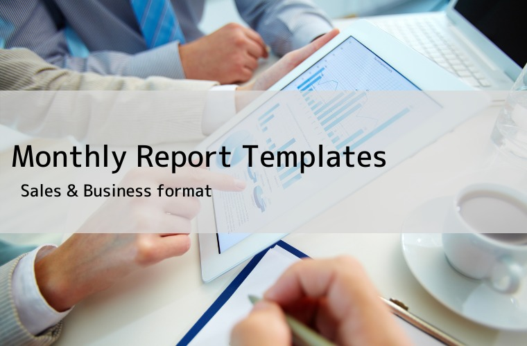 Monthly Report Template eye