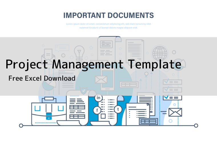 Project Management Template eye
