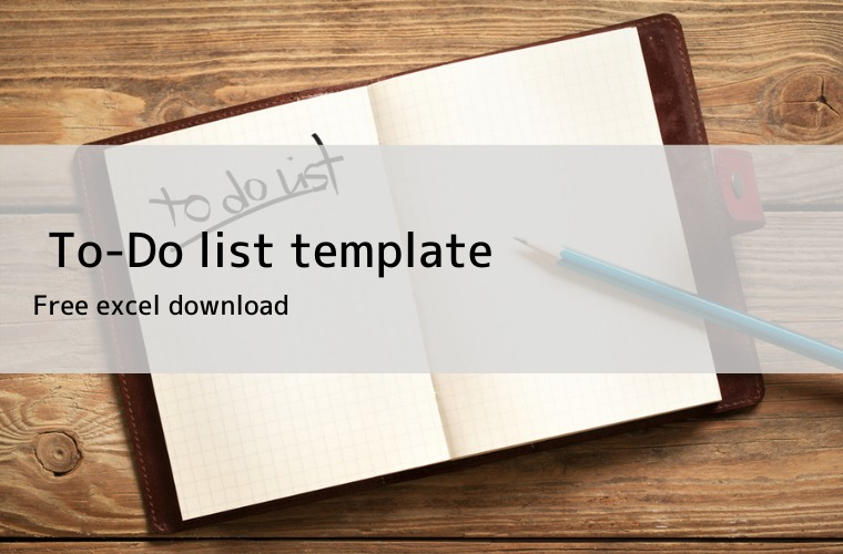 to-do list template excel download