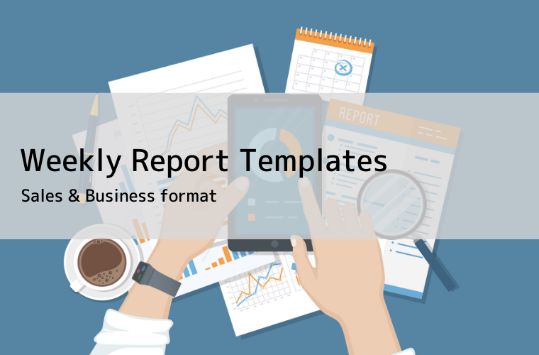 Weekly Report Template eye